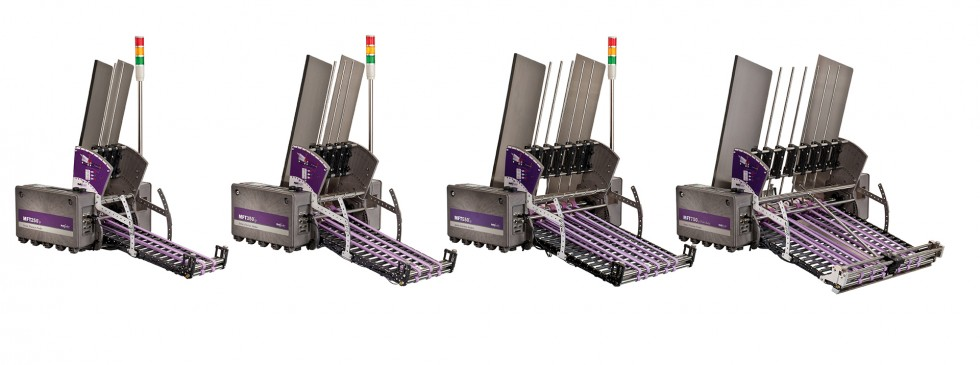 Multifeeder Technology Friction Feeder and Discharge Suite